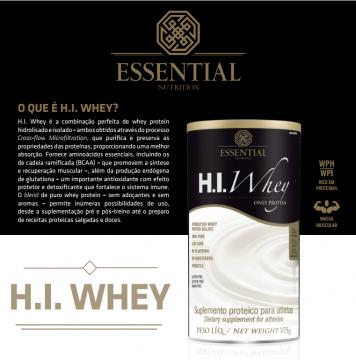 d855f04c1 Blog »  novidade H.I. WHEY ESSENTIAL NUTRITION