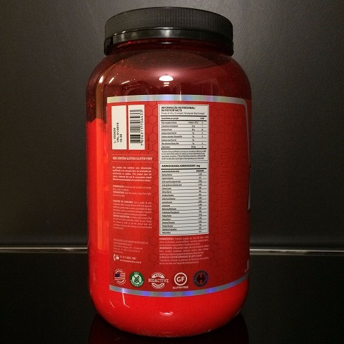 313541547 Whey Protein Iso Premium Morango 907G INTEGRALMEDICA » Suplementação »
